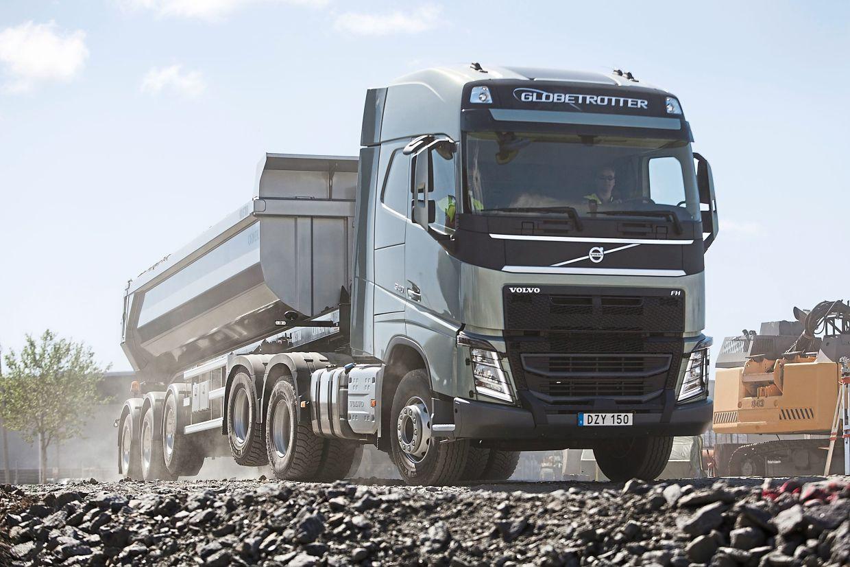 Avec essieu tandem ascenseur, la consommation de carburant peut être réduite de 4% par camion.