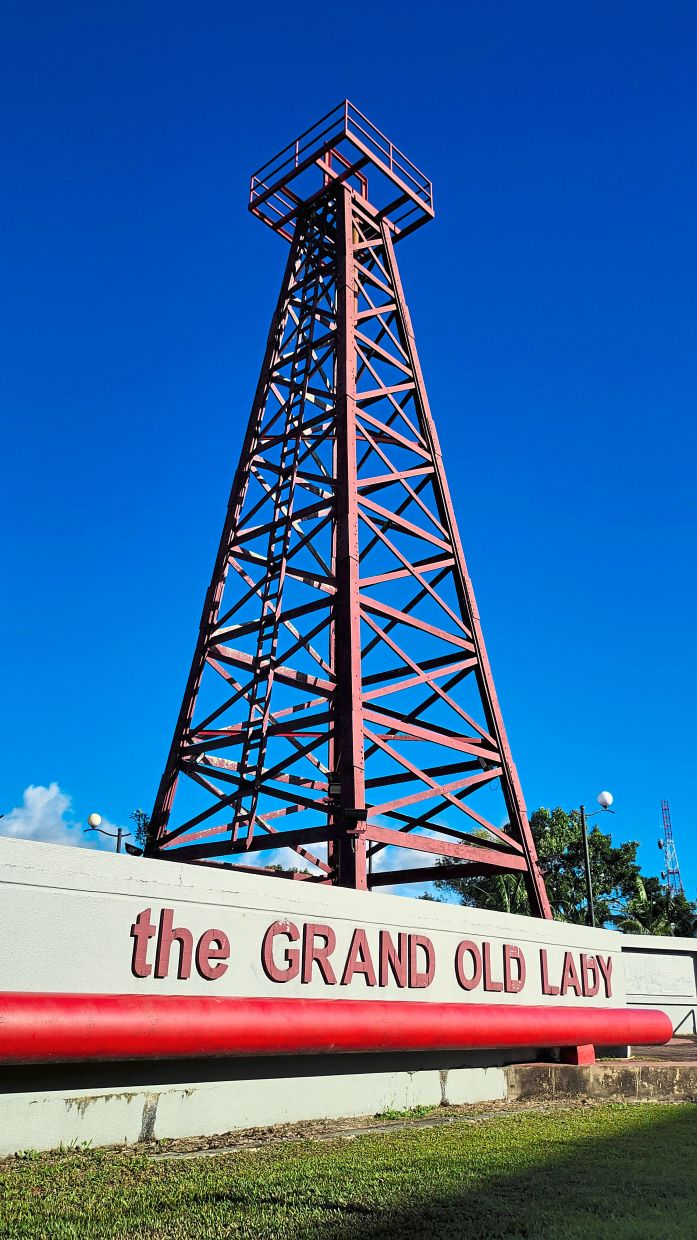The well, which is affectionately called the