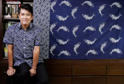 Meet the Malaysian fashion veteran who is on a new 'journey' to promote batik