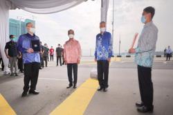 Singapore and Malaysia hold ceremony to resume work on Woodlands-Johor rail link