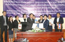 Japan grants US$2.9mil for human resource development scholarship in Laos