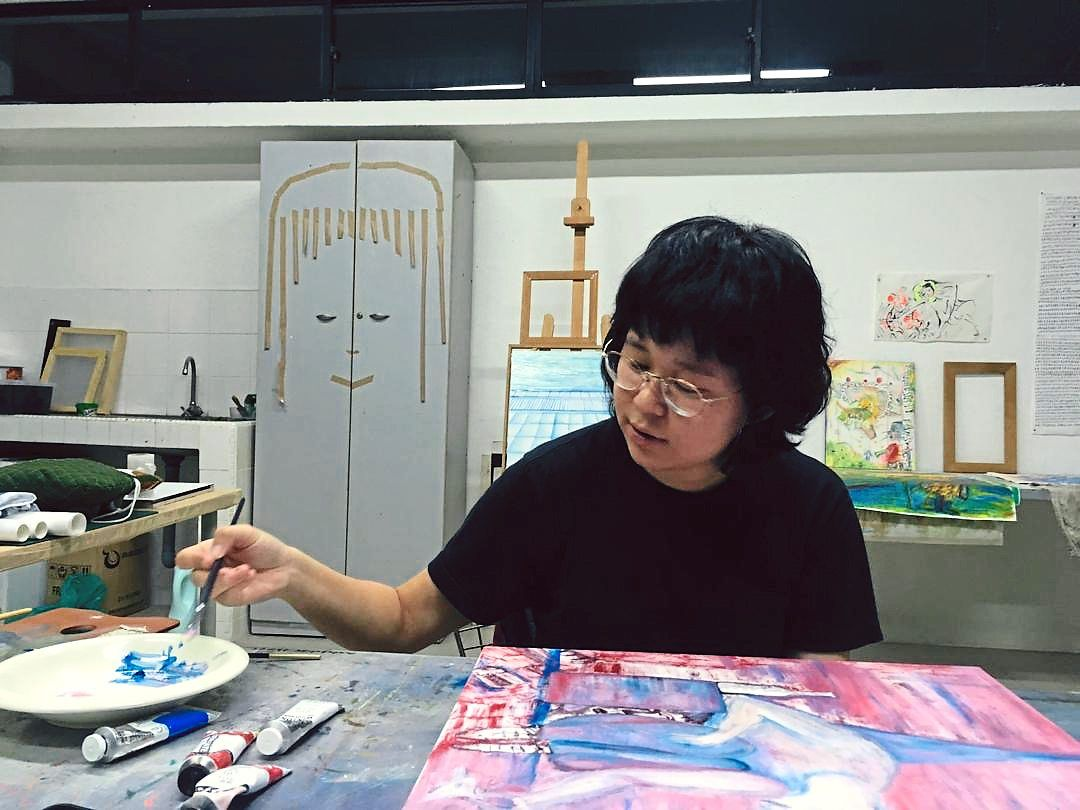 'I guess, artists are well-equipped to build playgrounds for themselves, ' says CC Kua, describing her alone time at Rimbun Dahan.