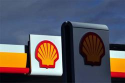 Shell avoids loss with strong trading