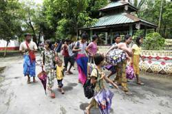 Myanmar may postpone election in war-torn Rakhine state