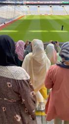 Irish Muslims perform Eid prayers on symbolic Croke Park pitch