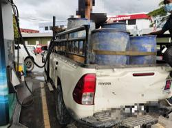 Domestic trade enforcement officers nab man for hoarding diesel without permit