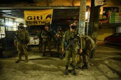 Six suspected Islamist militants and three soldiers killed in Philippine clash