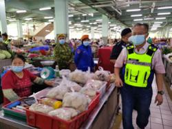 High compliance with compulsory face mask use in Sibu, says deputy OCPD