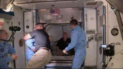 NASA astronauts riding SpaceX capsule poised for Sunday return