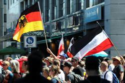 Thousands march in Berlin against coronavirus curbs
