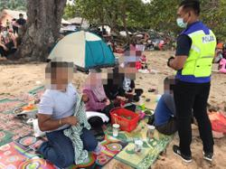 Cops fine twenty-six people in Kota Tinggi for not wearing face masks