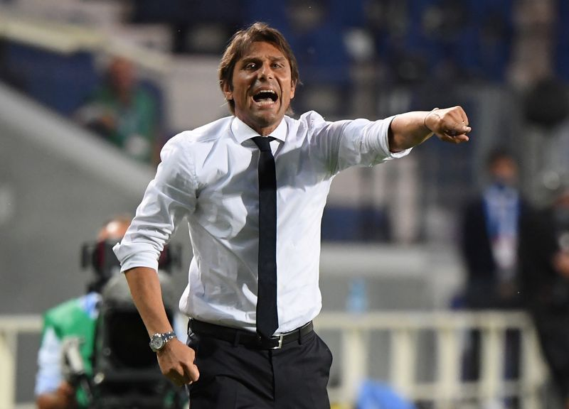 Football: Italian sports media abuzz after Inter coach Conte's ...