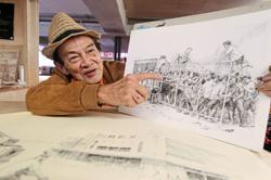 Veteran artist organises sketching sessions at former cinema building in KL