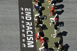 Formula One schedules time for drivers' anti-racism gesture