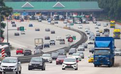 Traffic reported slow moving on major expressways