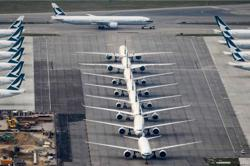 Grounded by pandemic: Hong Kong, Singapore on list of 10 airports with the most parked jets