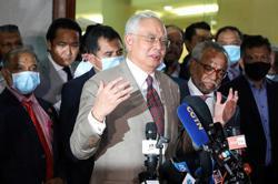 The Straits Times: Ex M'sian PM Najib under siege, but still a force