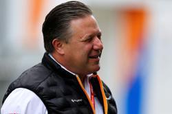 The bad news is behind us, says McLaren's Brown