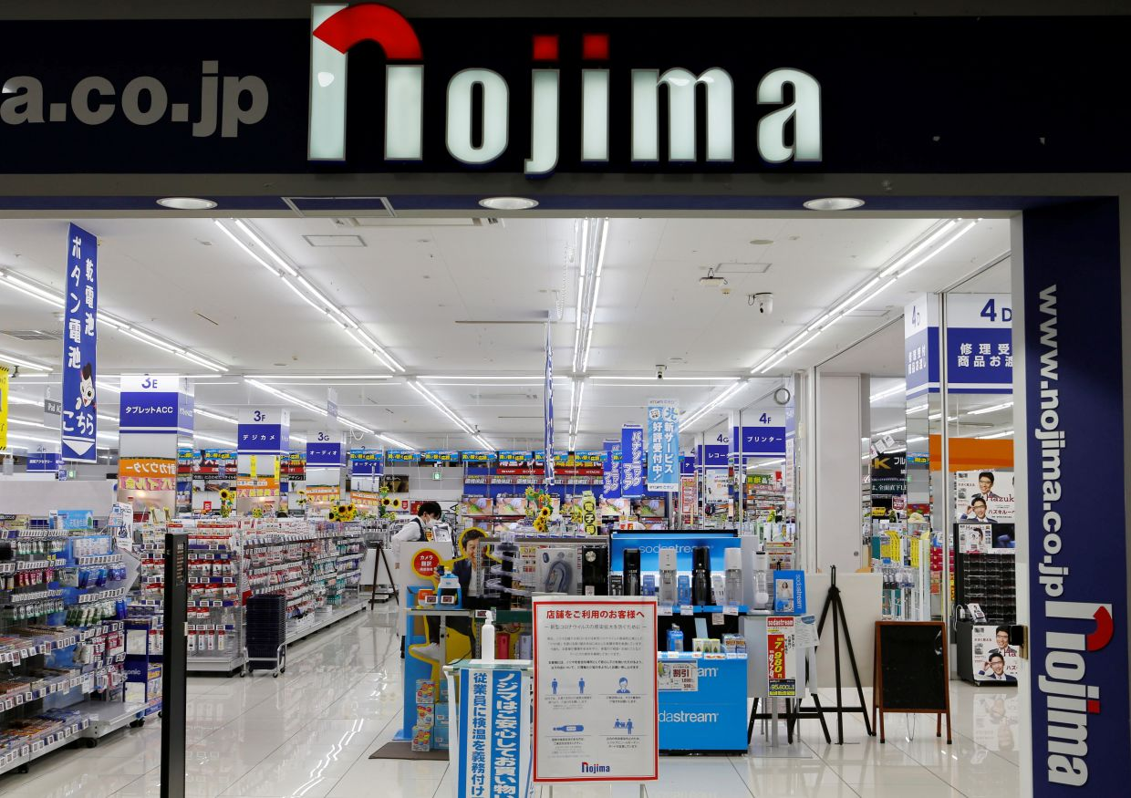 Under the scheme, Nojima's 3,000 regular employees can stay on the job until 80 on a renewable annual contract once they have hit the company's retirement age of 65.