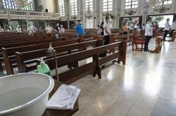 Archdiocese of Manila suspends public masses