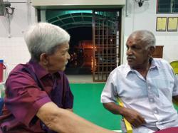 Football legend and Olympian Krishnasamy passes away