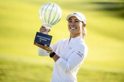 Golf: Kang holds on for one-shot win at Drive On Championship