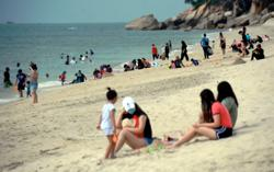 All eyes on Teluk Cempedak visitors