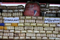 Large haul of narcotic drugs seized in Myanmar's northwestern state