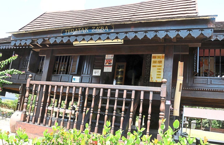 The Teratak Za'ba gallery in Batu Kikir in Negri Sembilan.