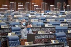 Barriers set up to ensure distancing in Dewan Rakyat