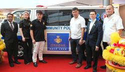 Donation of new ambulance to serve poor folk
