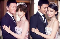 Xu Fei draws flak for replacing Angelababy with herself in a wedding photo