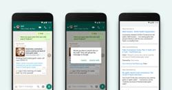 WhatsApp testing limited rollout of Search The Web feature to double-check forwarded messages