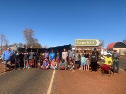 Indigenous Australian group blocks Uluru access route over pandemic fears