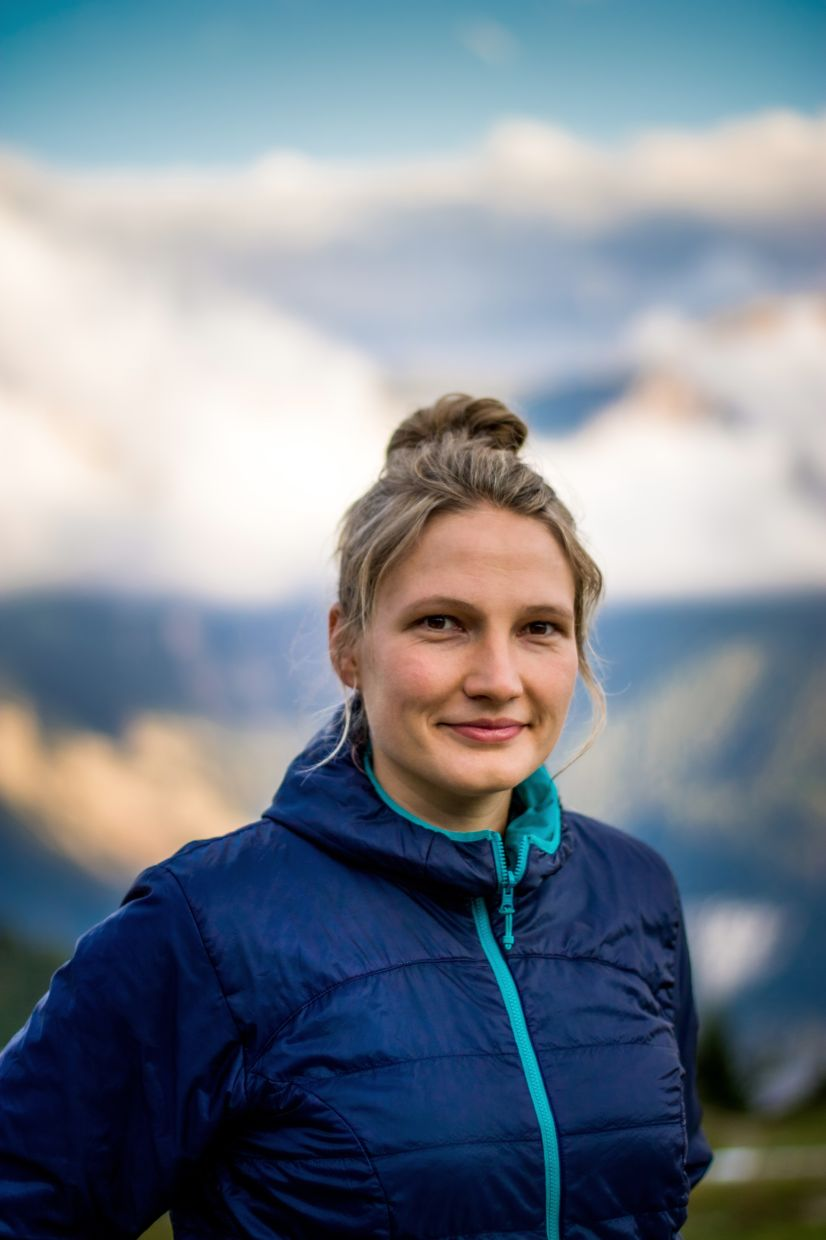 Heckmann is a passionate hiker and cyclist who blogs about her outdoor activities. — Photos: KATHRIN HECKMANN/dpa