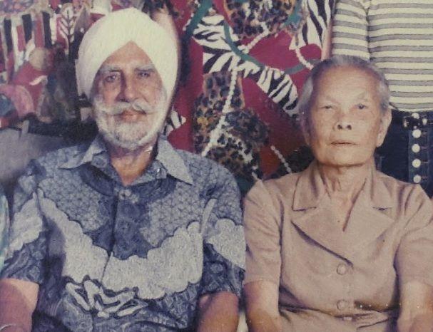 Harnaik Singh and his wife Bant Kaur @ Mae Niam