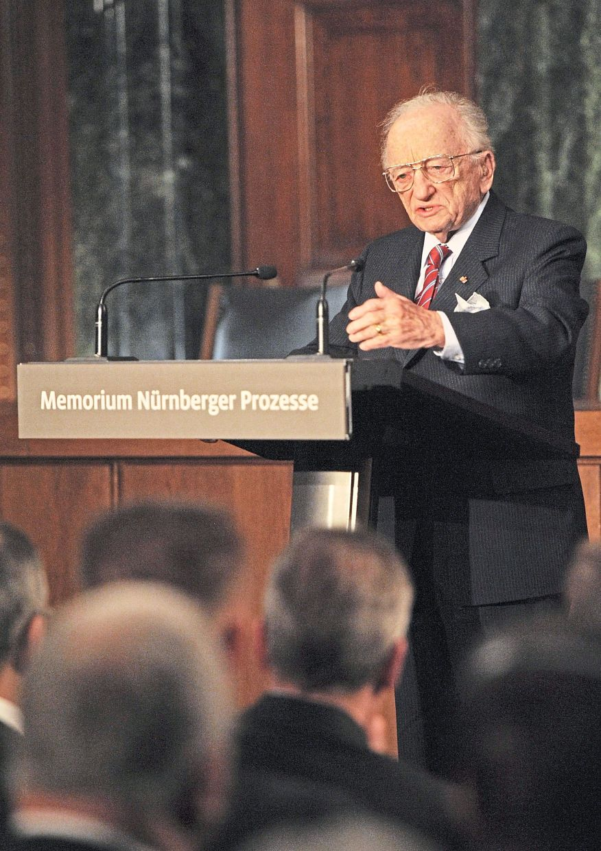 Today, Ben Ferencz is 100 years old. His greatest wish is that war should be made illegal. — dpa