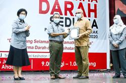 Federal recognition for Ipoh council's blood donation efforts