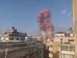Timeline of blasts in Lebanon