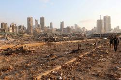 France says ready to help Lebanon following blast