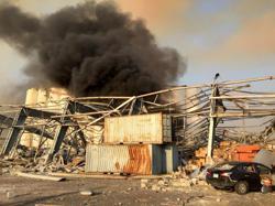 Israel not involved in Beirut blast, Israeli official says