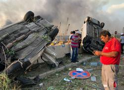 PM Johnson offers support to Beirut after massive blast