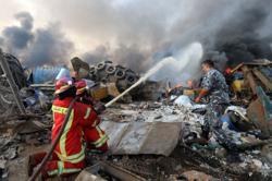 Lebanon supreme defence council declares Beirut a disaster-stricken city
