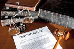 Govt considers drafting contempt of court law