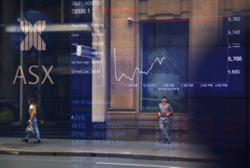 Australia shares end lower as corporate earnings, Covid-19 cases loom
