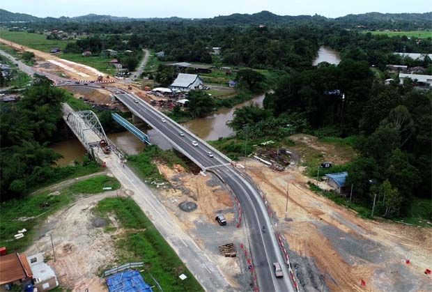 State assembly dissolution puts focus on Pan-Borneo Highway