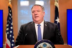 Pompeo says U.S. to present U.N. resolution next week to extend Iran arms embargo