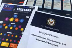 US State Dept: Russia pushes disinformation in online network