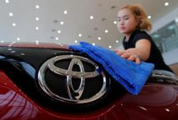 Toyota's 1Q profit nearly wiped out as Covid-19 erodes car sales