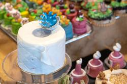 Toilet paper cakes as a nod to the pandemic